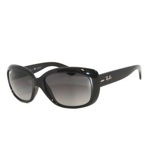 Ray Ban 4101 Jackie Black Polarized Sunglasses